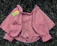 áo khoác jean nữ cúc sau lưng siêu đẹp ( nhiều màu )