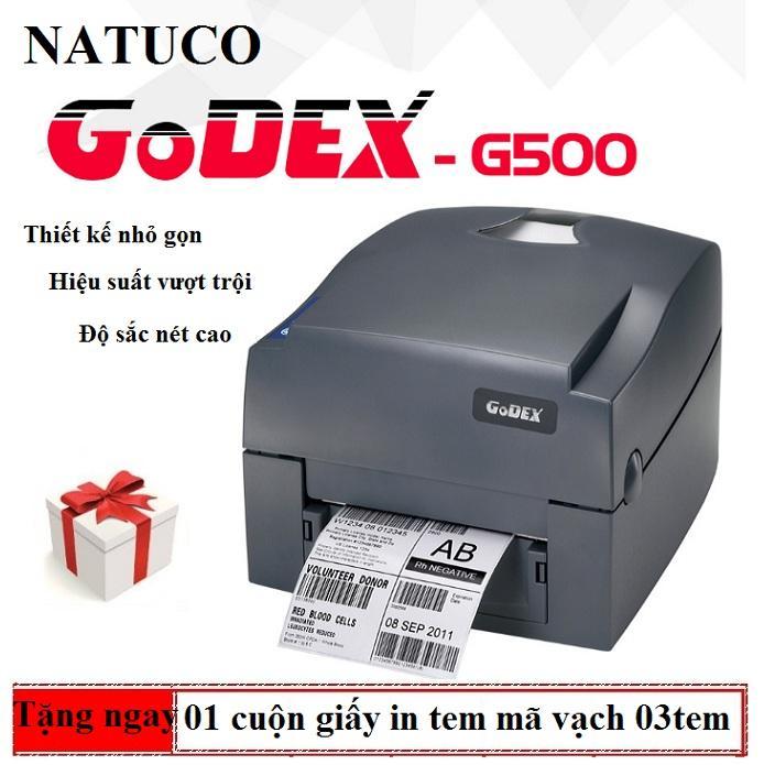 [HCM]Máy In Tem Mã Vạch Godex G500