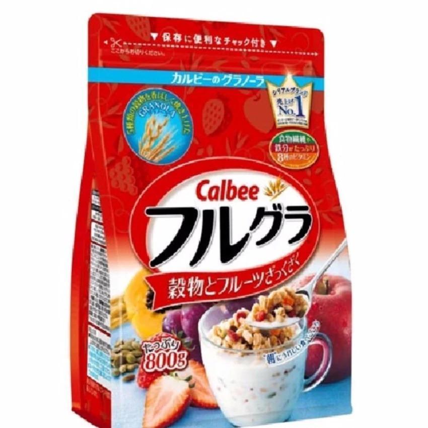 Ngũ cốc Calbee Nhật Bản 800g date T08 2018