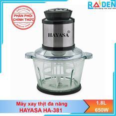 Máy xay thịt đánh trứng đa năng Hayasa Ha-381 – Hãng phân phối chính thức