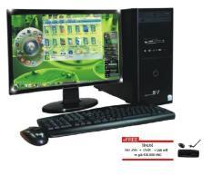 Máy tính để bàn ACVI01MH Core i5 / 4G / 500G ,Màn hình 18.5 inch Wide Led , phục vụ văn phòng ,học tập , chơi game , giải trí – Tăng bộ bàn phím chuột văn phòng , USB Wifi ,bàn di chuột