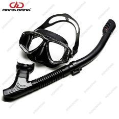 Bộ kính lặn Ống thở S301 – FULL B, mắt KÍNH CƯỜNG LỰC, ống thở van 1 chiều ngăn nước cao cấp – DONGDONG