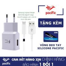 Bộ Sạc Nhanh Samsung Galaxy J7 Pro – Tặng Vòng đeo tay Silicone Pacific