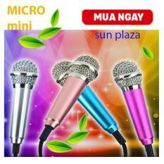 ( XEM VIDEO CHI TIẾT SẢN PHẨM )Micro Mini Hát Karaoke trên điện thoại