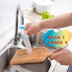 Mua 1 Tặng 1. Đầu vòi sen tăng nước quay 360 độ