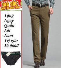 Quần kaki trung niên + tặng quần lót nam ngẫu nhiên