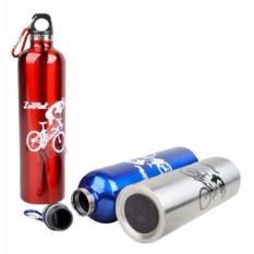 Chai bình đựng nước thể thao, có móc treo xe tiện lợi 750ml, gym