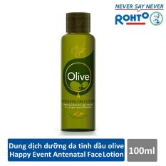 Dung dịch dưỡng da tinh dầu olive Happy Event Antenatal Face Lotion 100ml