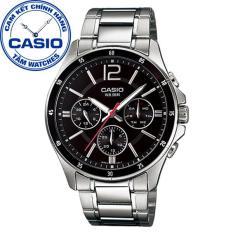 Đồng hồ nam dây thép không gỉ Casio Standard Anh Khuê MTP-1374D-1AVDF