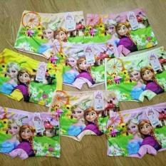 Sét 05 quần chíp đùi in hình 3d công chúa elsa cho bé gái