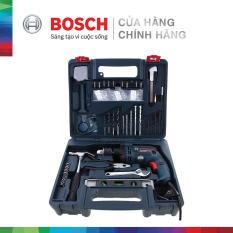 Máy khoan động lực Bosch GSB 13 RE SET + Kèm phụ kiện 100 chi tiết