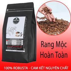 Cà phê rang xay nguyên chất Rocking Coffee – gói Robusta – 500g – Xay sẵn bột pha phin