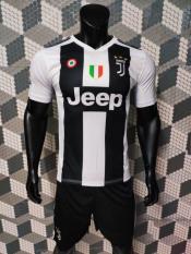 Bộ quần áo bóng đá đồ đá banh tay ngắn JUVENTUS 2018-19 sọc trắng đen