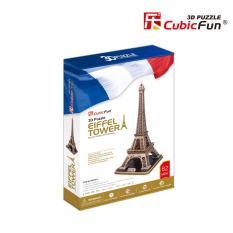 MÔ hình giấy Cubic Fun tòa tháp Eiffel – MC091h