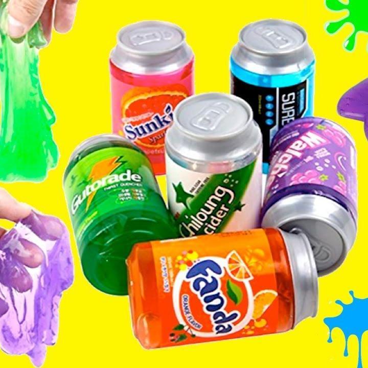 Slime Chất Dẻo Lon Nước Ngọt – Đồ Chơi Dẻo Trẻ Em An Toàn Thú Vị – Chirita