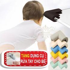 Combo 4 bọc góc chống va đập cho bé. Tặng dụng cụ rửa tay