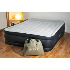 Giường hơi đôi tự phồng cao cấp 1m52 INTEX 64136 TẶNG TÚI , MIẾNG VÁ