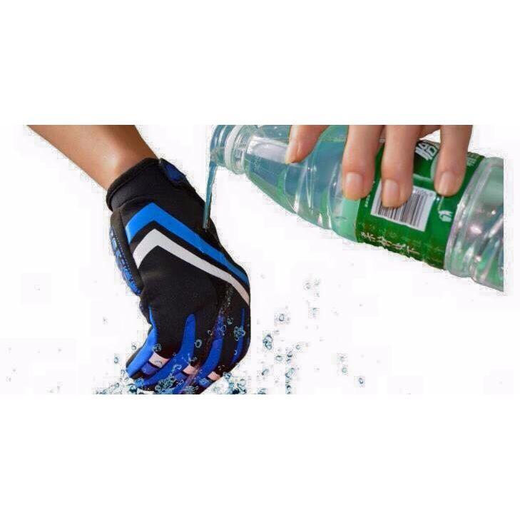 Găng tay cảm ứng chống thấm thiết kế tinh tế hữu dụng ( xanh )