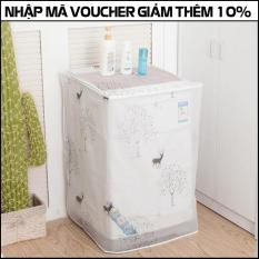 Áo trùm máy giặt mẫu mới loại dày cao cấp – cửa trên – cửa trước