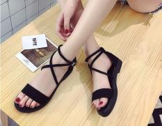 [ẢNH THẬT] Giày sandal quai bản dây chéo SD15