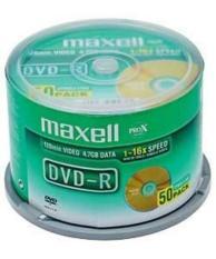 Bộ 50 đĩa DVD Maxcell hàng nhập khẩu Ấn Độ