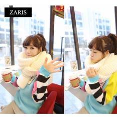 Khăn len nam nữ dày kiểu đan ZARIS ZA39192