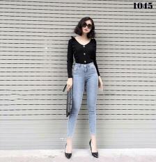 Jean nữ lưng cao