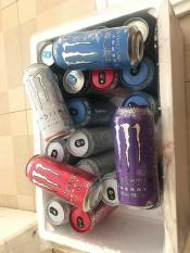 Monster Energy Combo 24 lon 473ml (Zero/Blue/Red/Violet/Peach/Raspbery)