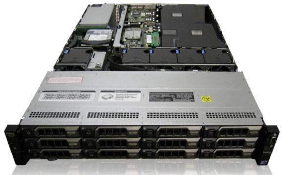 Mua Server Dell R510 14 ổ cứng lưu trữ tối đa 37,8 TB Tại maychu 247