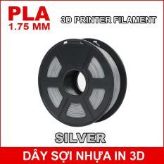 Dây sợi nhựa PLA in 3D 1.75mm 1Kg Silver