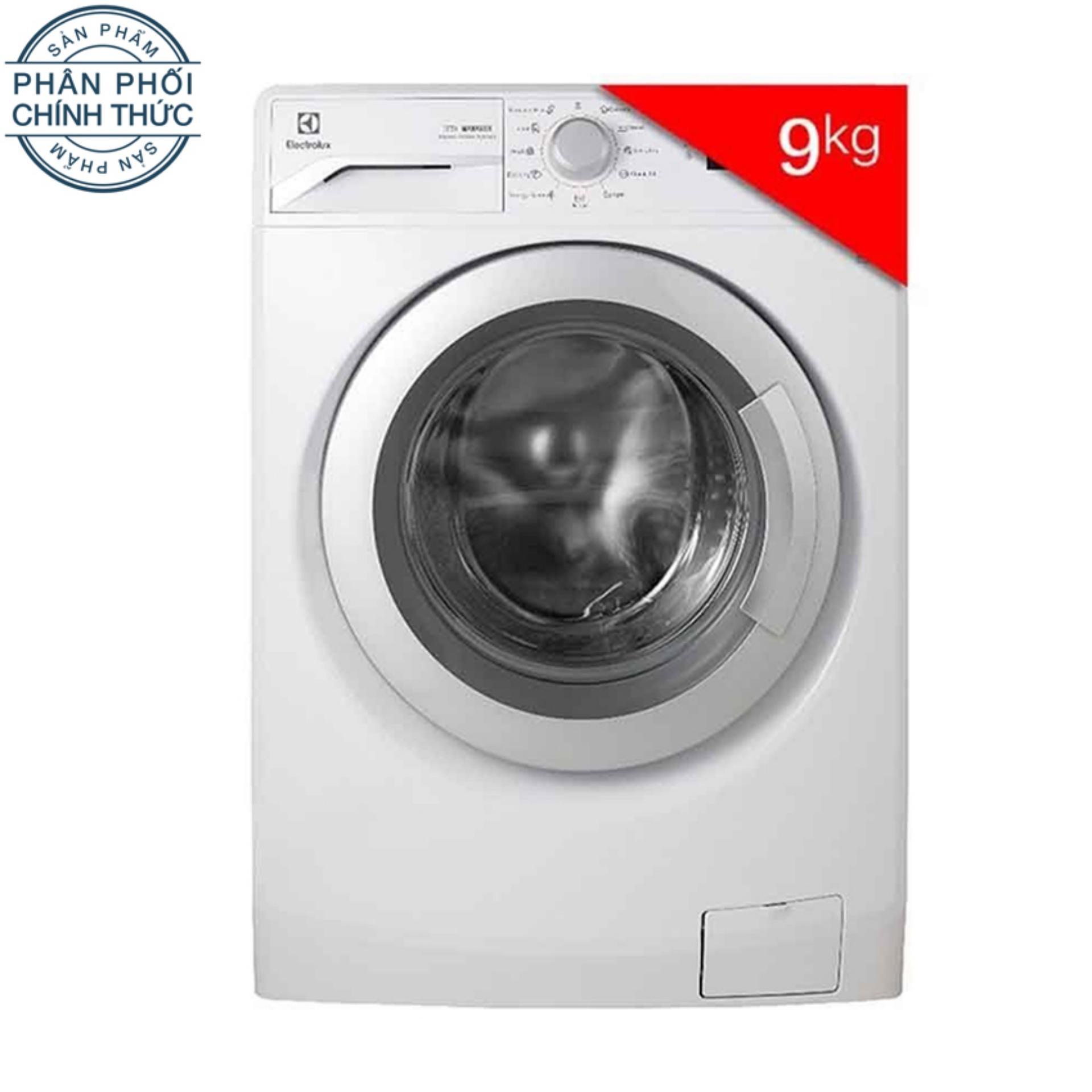 Máy Giặt Cửa Trước Inverter Electrolux EWF12942 9Kg (Trắng)