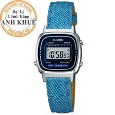 Đồng hồ nữ dây da Casio Anh Khuê LA670WL-2A2DF