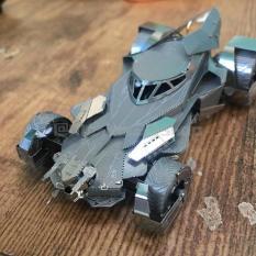 Mô hình 3D 1989 BATMOBILE bằng thép không gỉ ( tặng dụng cụ lắp ghép)