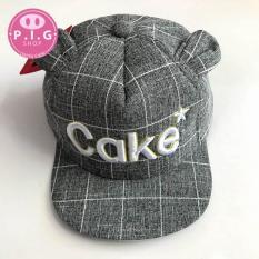 Nón kết CAKE,nón lưỡi trai,mũ nón cho bé trai,bé gái 1-2 tuổi