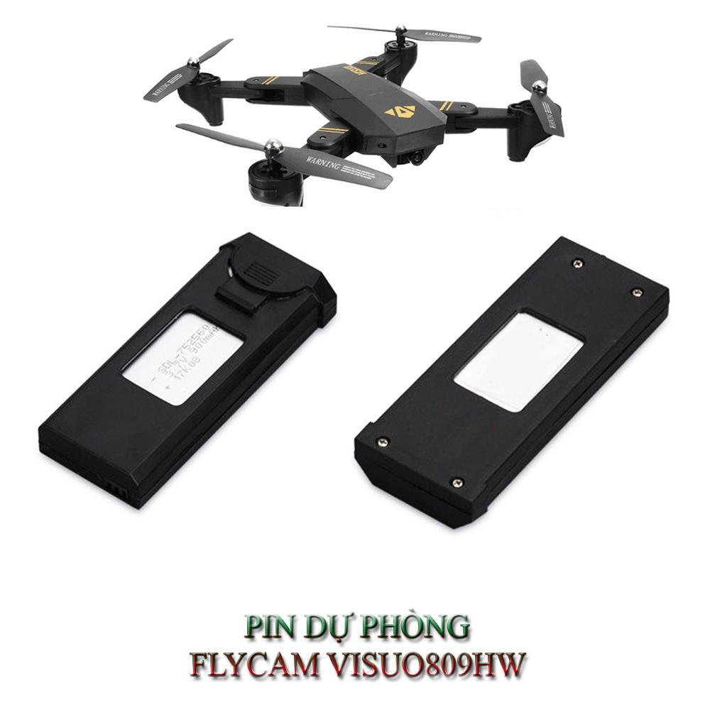 Pin FLYCAM Visuo XS809 / XS809HW 3.7v 900mAh