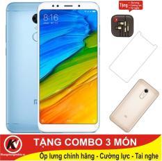 Xiaomi Redmi 5 Plus -32GB Ram 3GB ( Xanh ) – Hàng nhập khẩu + Ốp lưng + Cường lực + Tai nghe nhét tai