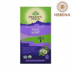 Trà tulsi cải thiện giấc ngủ Organic India Tulsi Sleep – hebenastore