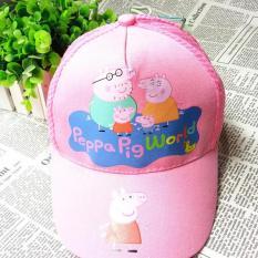 Mũ nón trẻ em mẫu gia đình chú heo pepa – 44PKM047