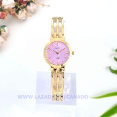 CANADO Đồng Hồ Nữ HALEI Ladies Luxury Watch Kính Saphiare HL05010 Chống Xước – Chống Nước