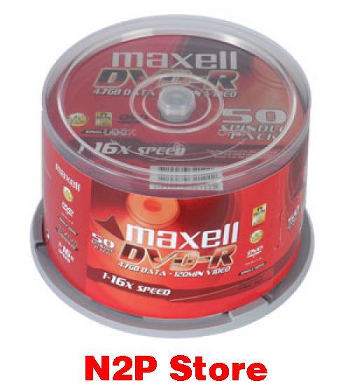 Nên mua Đĩa DVD trắng Maxell (Hộp 50c) ở N2P Store