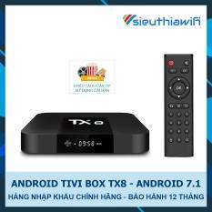 ANDROID TIVI BOX TX8 – GIẢI TRÍ CHO TIVI – TẶNG TÀI KHOẢN VIP