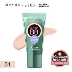 Kem BB siêu mịn kiềm dầu Maybelline New York Super Cover Fresh Matte 1 (Màu sáng)