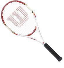 Vợt tennis Wilson 285g (dùng chơi phong trào -tặng cước và cuốn cán lần đầu shop free căng cước )
