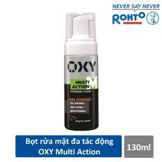 Bọt rửa mặt đa tác động dành cho Nam Oxy Multi Action 130ml – CƠ HỘI TRÚNG IPHONE X