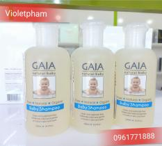 Dầu gội hữu cơ cho bé GAIA shampoo Úc 250ml