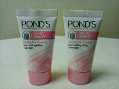 Combo 2 tuýt kem pond's dưỡng trắng toàn diện 8g/tuýt + tặng 1 túi đựng mỹ phẩm
