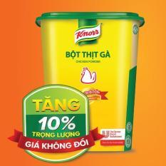 Bột Thịt Gà Knorr tăng trọng lượng 10% giá không đổi