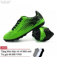 giày đá bóng sân cỏ nhân tạo.giày đá banh.việt nam Coavu