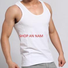 Bộ 3 áo thun ba lỗ nam(100% coton nam)