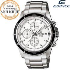 Đồng hồ nam dây kim loại EDIFICE chính hãng Casio Anh Khuê EFR-526D-7AVUDF
